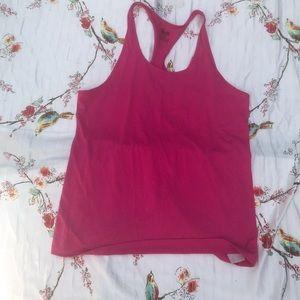 Nike Dri-Fit Athletic Tank Size XL Slim Fit Pink